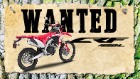 Wanted CRF 450 L